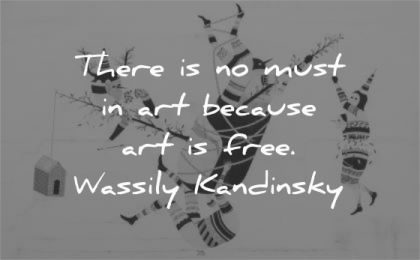 art quotes there must because free wassily kandinsky wisdom