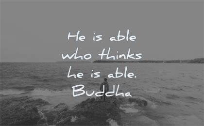 buddha quotes able who thinks wisdom water nature