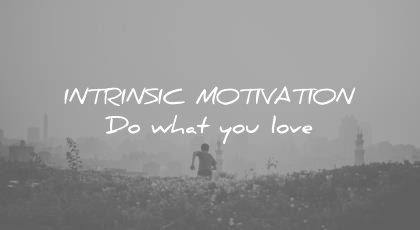 how to learn faster intrinsic motivation do what you love wisdom quotes