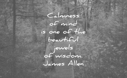 meditation quotes calmness mind one beautiful jewels wisdom james allen